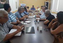 Reunião foi comandada pelo atual presidente Francisco Navega